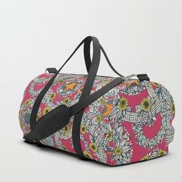 cirque fleur rose papaya star Duffle Bag