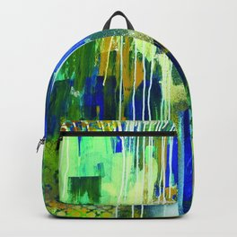 Waterfall Equals No Harm Backpack