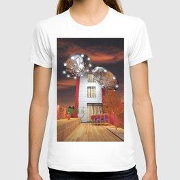 Idilic Night with Ovnis T-shirt