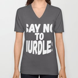 Environmentalist Gift Say No To Nurdles, Coastal Cleanup Day Ocean Life, Environmental Issues, Keep Unisex V-Neck