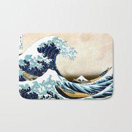 Kanagawa Oiled Bath Mat