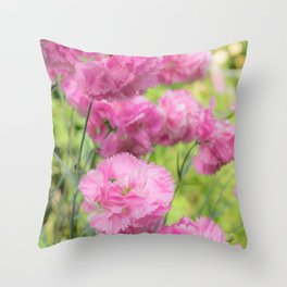 Can't Get Enough of Pinks! Throw Pillow