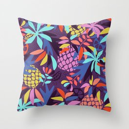 Pineapple Fruit Punch Throw Pillow