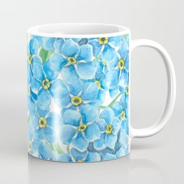 Forget me not watercolor Coffee Mug