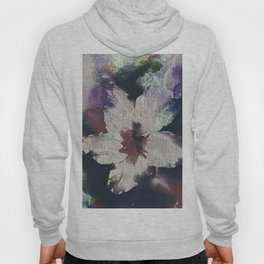 LILY FLOWER ABSTRACT/FOGGY NIGHT Hoody