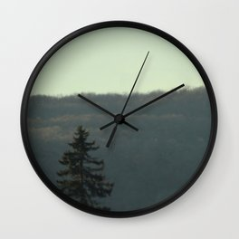 Evergreen Dream Wall Clock