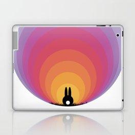 Bunny Rabbit Sunrise Laptop & iPad Skin