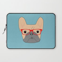 Fawn Bulldog Laptop Sleeve