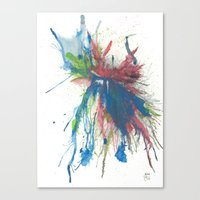 the 100 Canvas Prints featuring #100 by Samuel Touzjian