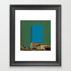 Block 32 Framed Art Print