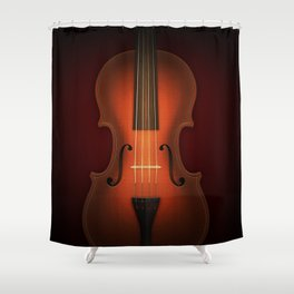 Straordinarius Stradivarius Shower Curtain