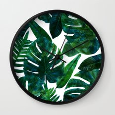 Perceptive Dream || #society6 #tropical #buyart Wall Clock