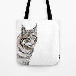 Lynx Cat Tote Bag