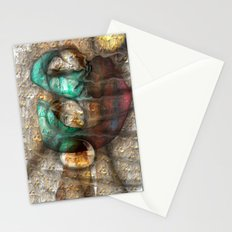 Friday P wave  Stationery Cards
