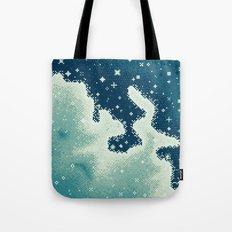 Snowdrift Nebula Tote Bag