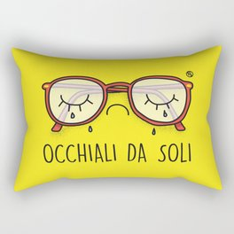 Occhiali da Soli Rectangular Pillow