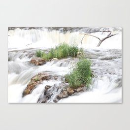 Waterfalls of Wisconsin, Willow River Canvas Print