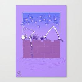 Gentle Macabre Canvas Print