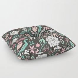 Tulip flowerbed Floor Pillow