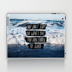 Learn to Surf Laptop & iPad Skin
