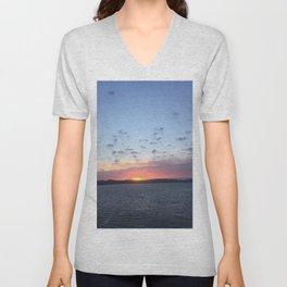 Ocean sky Unisex V-Neck