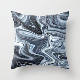 Ripple art Throw Pillow