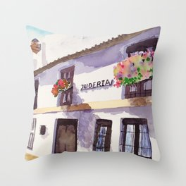 Old Sevilla Throw Pillow