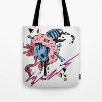 law Tote Bags featuring LAW by bartd