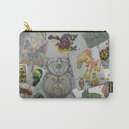 Collage Doodles Carry-All Pouch