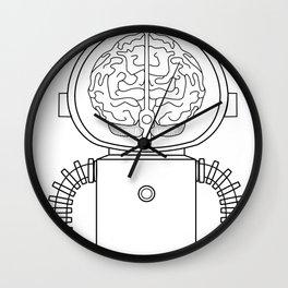 RobotSpaceBrain Wall Clock
