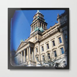Mile 13: Detroit Free Press Marathon Metal Print