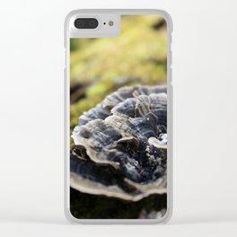 Mushrooms 3 Clear iPhone Case