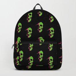Skull - Lime Backpack