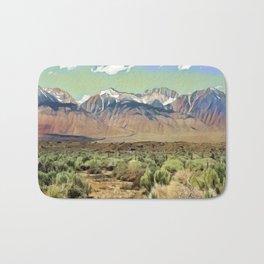 Sierra Nevada I Bath Mat