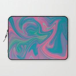 Acid marble dream Laptop Sleeve