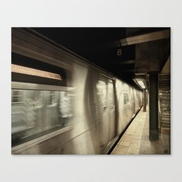 Woosh! Canvas Print