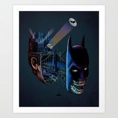 destructured hero#1 Art Print
