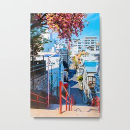 Japan - 'Your Name Street' Metal Print