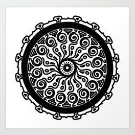 Confidence: Self-empowerment Mandala Art Print