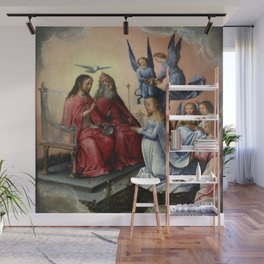 Michel sittow - Coronation of the Virgin Wall Mural