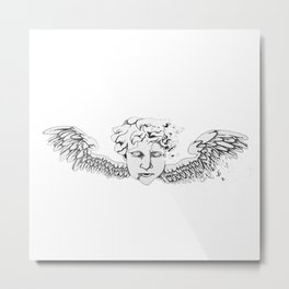 Dying Angel Metal Print