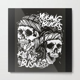 Killing Business Metal Print