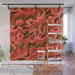 Coral Camouflage 3 Wall Mural