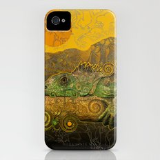 Just Chilling and Dreaming...(Lizard) iPhone (4, 4s) Slim Case