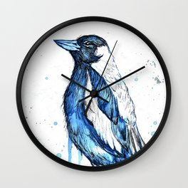 Quick sketch of a Magpie Wall Clock