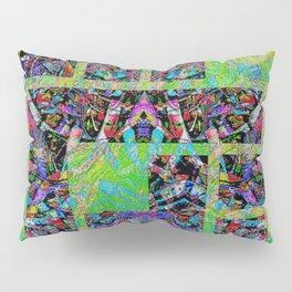 Interlocked pattern Pillow Sham