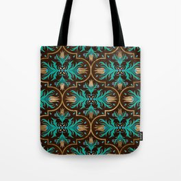 Turkish tulip - Ottoman tile 16 Tote Bag