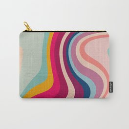 Boho Fluid Abstract Carry-All Pouch