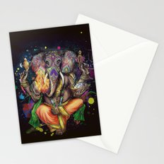 Colorful Ganesh Stationery Cards
