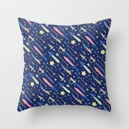 Magical Weapons Throw Pillow